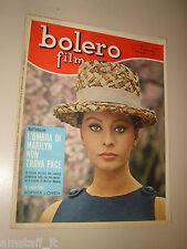 BOLERO=1965/950=SOPHIA LOREN COVER MAGAZINE=ALFREDO ROSSI=FOTOROMANZO=