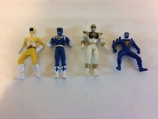 "1995 Saban 4"" Mighty Morphin Power Rangers Action Figures Lot of 4"