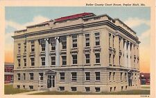 Missouri postcard Poplar Bluff Butler County Court House