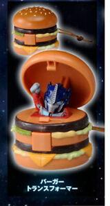 Japan Hamburger Transformers optimus prime McDonald's promo Happy Meal toys