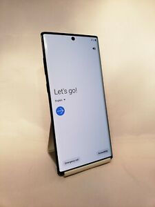Samsung Galaxy Note 10 Plus 5G 256GB Aura Black AT&T Unlocked Good Condition