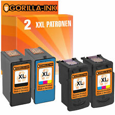 Set 2 cartuchos para canon pg 40/41 510/511 512/513 540/541 545/546 XL y Lexmark