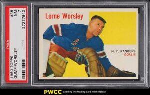 1960 Topps Hockey Gump Worsley #36 PSA 7 NRMT