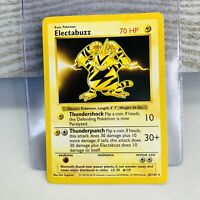 Shadowless Electabuzz 20/102 Base Set 1999 Pokemon Card WOTC EX/Light play