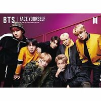 BTS FACE YOURSELF First Limited Edition B CD DVD Booklet Sticker Japan