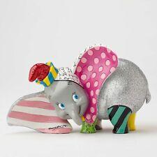 Enesco Disney by Britto Dumbo Wearing Hat Pop Art Glitter Figurine 3.5 inch
