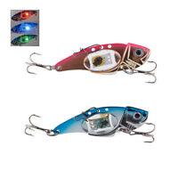 Deepwater Fishing LED Fish Lure Bait Light Flashing Lamp Tackle Hooks Outdo TS