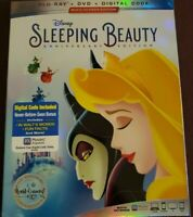 FACTORY SEALED Sleeping Beauty - Anniversary Edition BLURAY/DVD/DIGITAL CODE