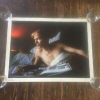 DAVID BOWIE, PARIS, FRANCE No. 1478 Andrew Kent 25x19 rolled poster vintage