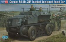 HOBBY BOSS 1/35 Sd.Kfz. 254 Con Rastreo ARMADO Scout Coche #82491