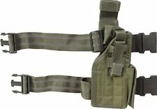 Web-tex US Assault Holster Olive Green Webbing Airsoft Military Gear Kit New