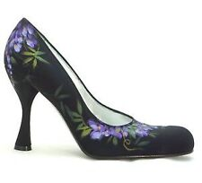 Women's Floral Stiletto Heels