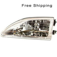 Halogen Head Lamp Assembly Driver Side Fits 1994-1998 Ford Mustang FO2502161
