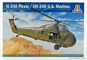 SIKORSKY UH-34D HELICOPTER U.S.A MARINES 1974 SCALA 1/48 ITALERI IT2776