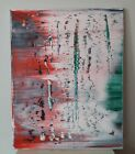 Tribute to Gerhard Richter Abstract Painting Signed