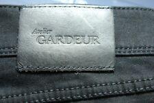 NEW DESIGNER JEANS Gardeur 36 X 30 Very Black Cotton Flex 97% COTTON Nevio $245