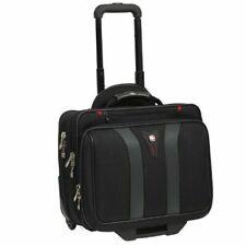 "Wenger SWISSGEAR Granada Rolling Carry-On 17"" Laptop Briefcase Wheeled Bag Swiss"