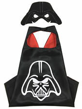 Halloween Costume Superhero Darth Vader Cape and Mask for Kids Unisex Boy Girl