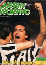 GUERIN SPORTIVO=N°21 1981=CALCIOMONDO=POSTER BRADY=