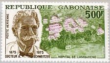 GABON GABUN 1975 549 C159 Dr Albert Schweitzer Medicine Missionary Medizin MNH