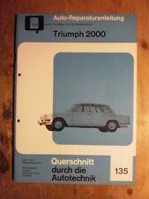 Triumph 2000 Reparaturanleitung Handbuch