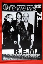 R.E.M. On Cover 1999 Rare Exyu Magazine