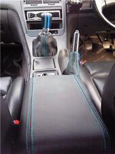 RED STITCH CUIR Tableau De Bord Dash couvrir Fits Nissan 300ZX Z31 1984-1989