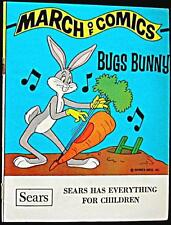 MARCH OF COMICS 440 BUGS BUNNY VF- RARE GIVEAWAY PROMO PROMOTIONAL MINI COMIC