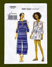 Lace-up Bodice Jumpsuit & Romper Sewing Pattern~Petite (Sizes XS-M) Vogue 9260