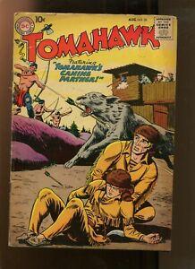 TOMAHAWK #50 (4.0) CANINE PARTNER! 1957