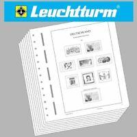 LEUCHTTURM Vordruckblätter DDR 1949-1959