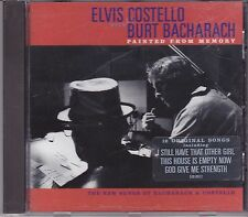 Elvis Costello with Burt Bacharach-Painted From Memory cd album