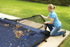(4.6m by 9.1m) - Dirt Defender 4.6m x 9.1m Oval Leaf Net Above Ground Pool Cover