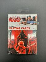 Star Wars The Last Jedi - Villains Of The First Order Playing Cards. Sealed