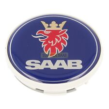 SAAB 93 9-3 9440 03-12MY ALLOY WHEEL CENTRE CAP BADGE 12775052 NEW GENUINE RARE