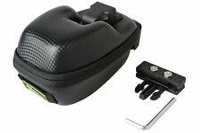 RockBros Leather Bicycle Saddle Bag Saddlebag MTB Bike Waterproof Black Seat Bag