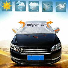 Universal Car Windshield Cover Sun Shade Protector Dust Snow Rain Frost Guard