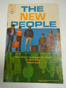 Dell The New People #1 (1970) Photo Cover