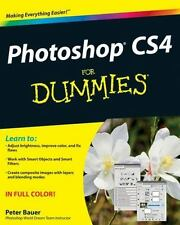 NEW - Photoshop CS4 For Dummies by Bauer, Peter