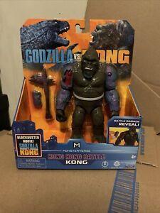 "Godzilla vs Kong Hong Kong Battle King Kong Damage Reveal Playmates 6"" Figure!"