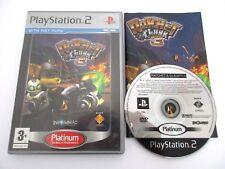 RATCHET & CLANK 3 - SONY PLAYSTATION 2 - Jeu PS2 Platinum PAL Complet
