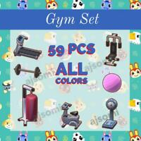New Horizons complete Gym set Total 59pcs All colors