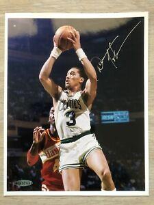 Dennis Johnson Signed UDA 8x10 Boston Celtics Larry Bird Era HOF
