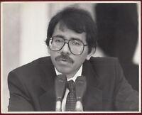 1980s Original Photo Spain Daniel Ortega President Nicaragua Central America
