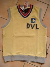 (55) COOLER Roberto Cavalli Boys SCOLLO A V Gilet + logo ricamato gr.140