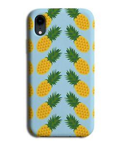 Tropical Pineapples Phone Case Cover Artwork Pineapple Pattern Orange F525