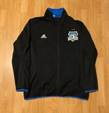 Adidas San Jose Earthquakes Track Jacket Size Men's XL