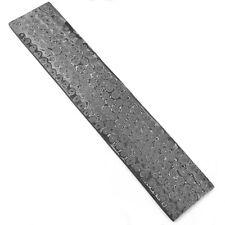 "10"" HandForged Damascus Steel Billet bar Rain Drop Pattern ZH33 Width2""1/8""Thick"