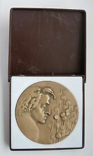 POLISH COMPOSER FREDERIC CHOPIN PIANIST MUSIC MEDAL 1980 year boxed
