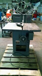 """Rockwell Model 43-340 Heavy Duty Wood Shaper 1 HP 230/460V 3 Phase 1/2"""" Spindle"""